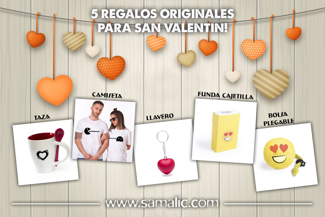 San Valentin Articulos Publicitarios Online