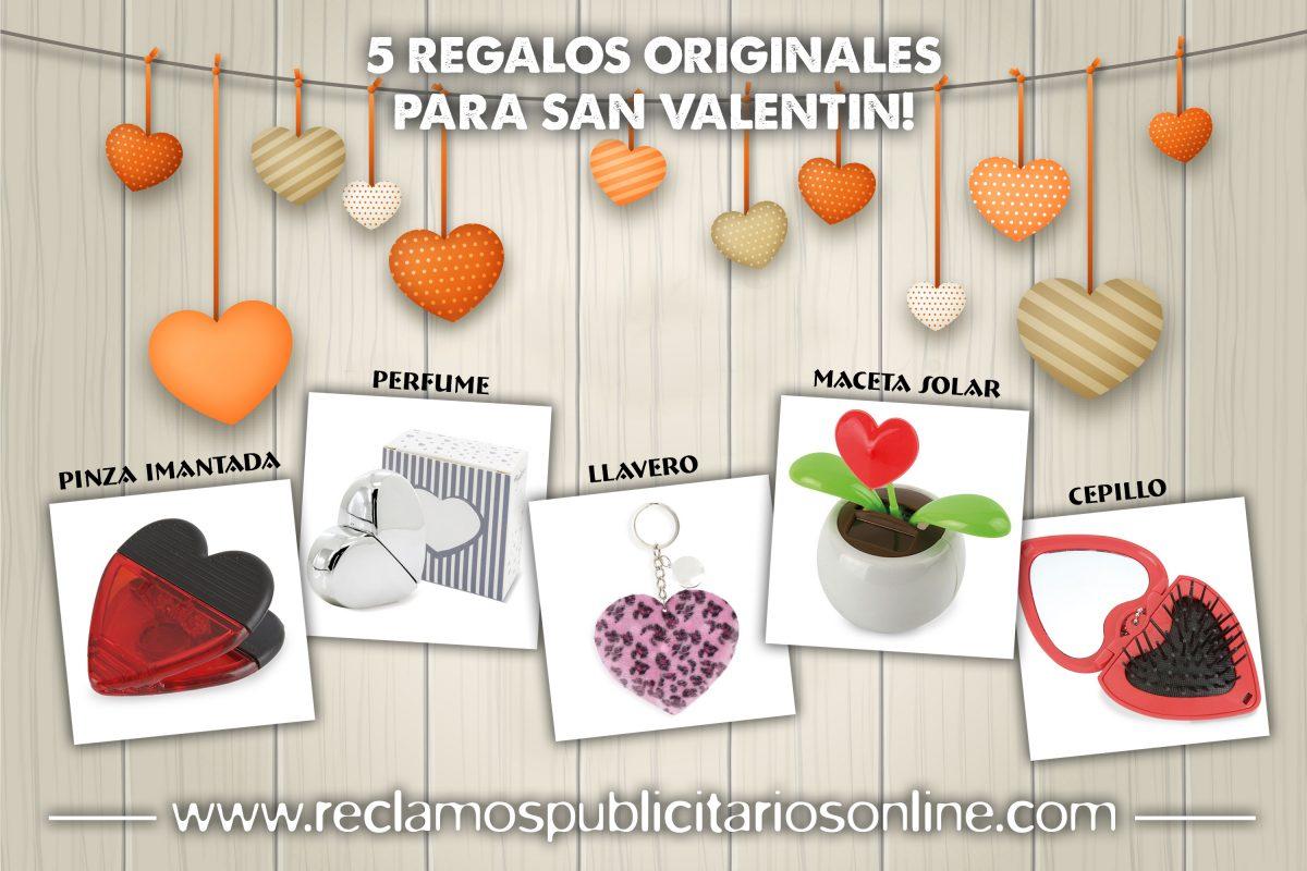 5 regalos originales para San Valentin