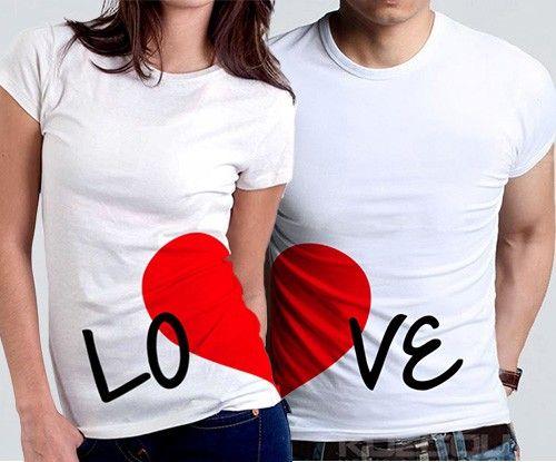 Camisetas para San Valentin 2020, Camisetas promocionales